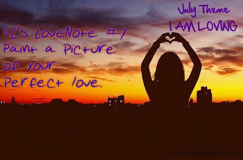 Kls Lovenote 7 Paint A Picture Of Your Perfect Love